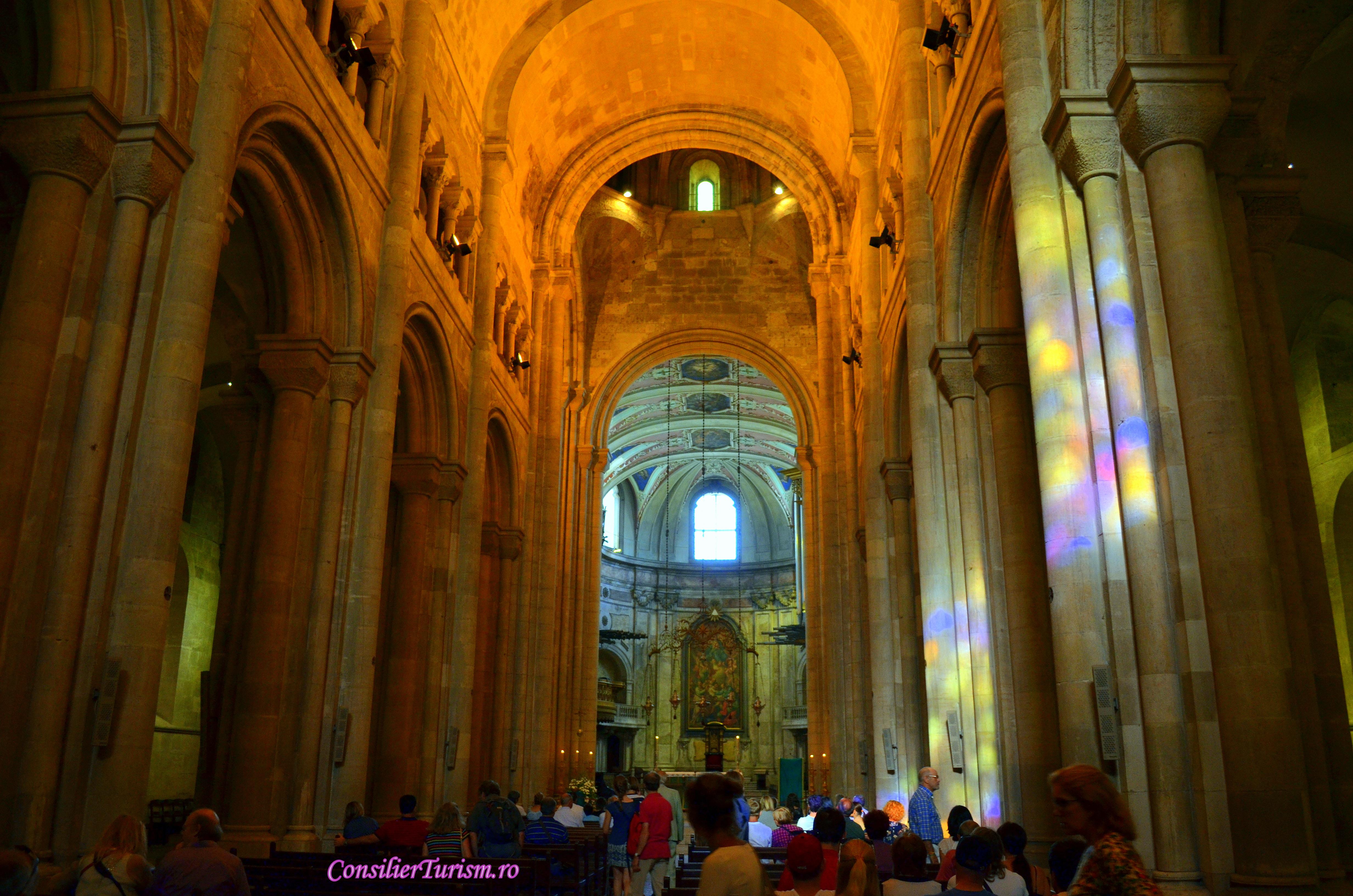 catedrala lisabona interior