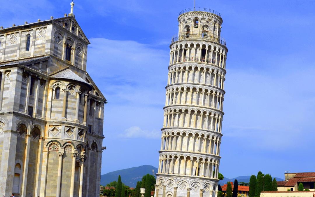 O minune imperfectă și povestea sa diferită: Turnul din Pisa