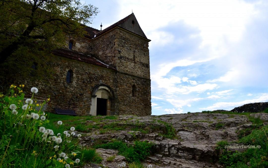 Cetatea de la Cisnădioara, un loc la înălțime. Impresii și galerie foto