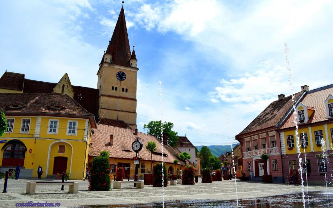 Biserica fortificată de la Cisnădie, un loc cu legende, comori și povești adevărate