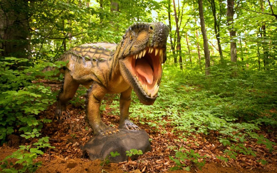 Râșnov: se deschide Dino Parc, cel mai mare parc cu dinozauri din Sud-Estul Europei