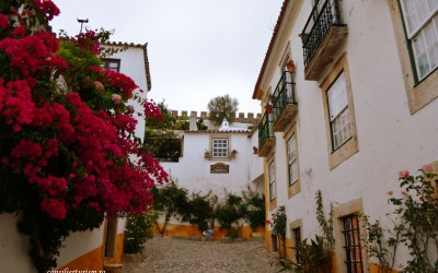 Obidos, satul fortificat oferit cadou de nuntă reginelor Portugaliei