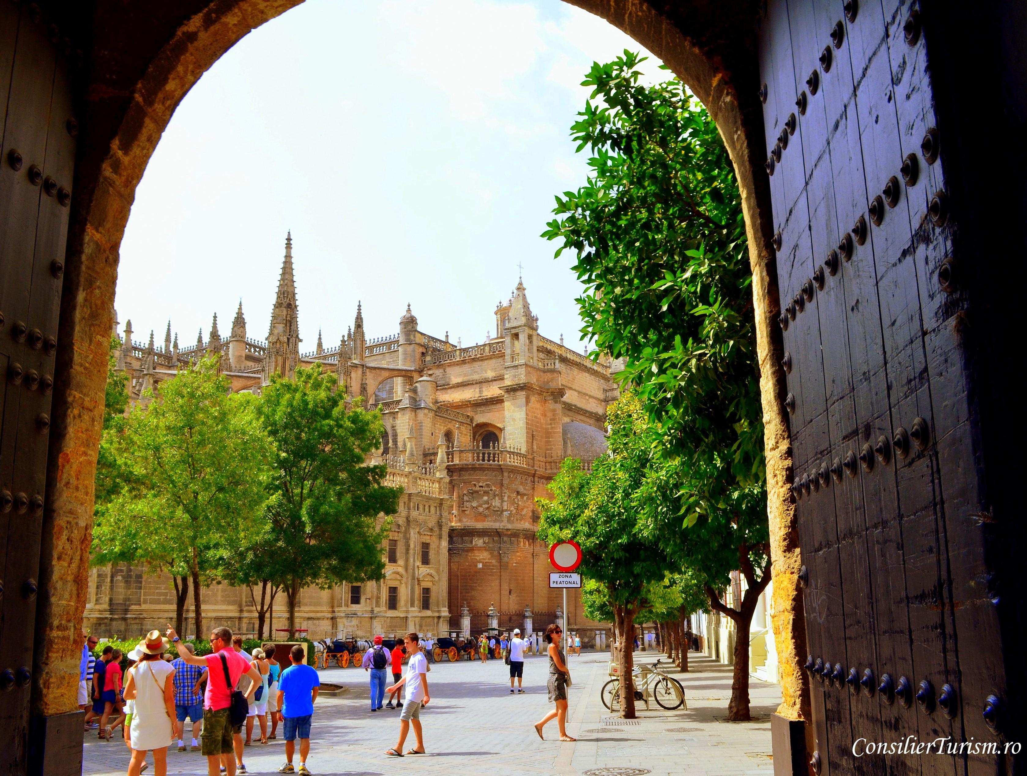 Catedrala Sevilla Spania