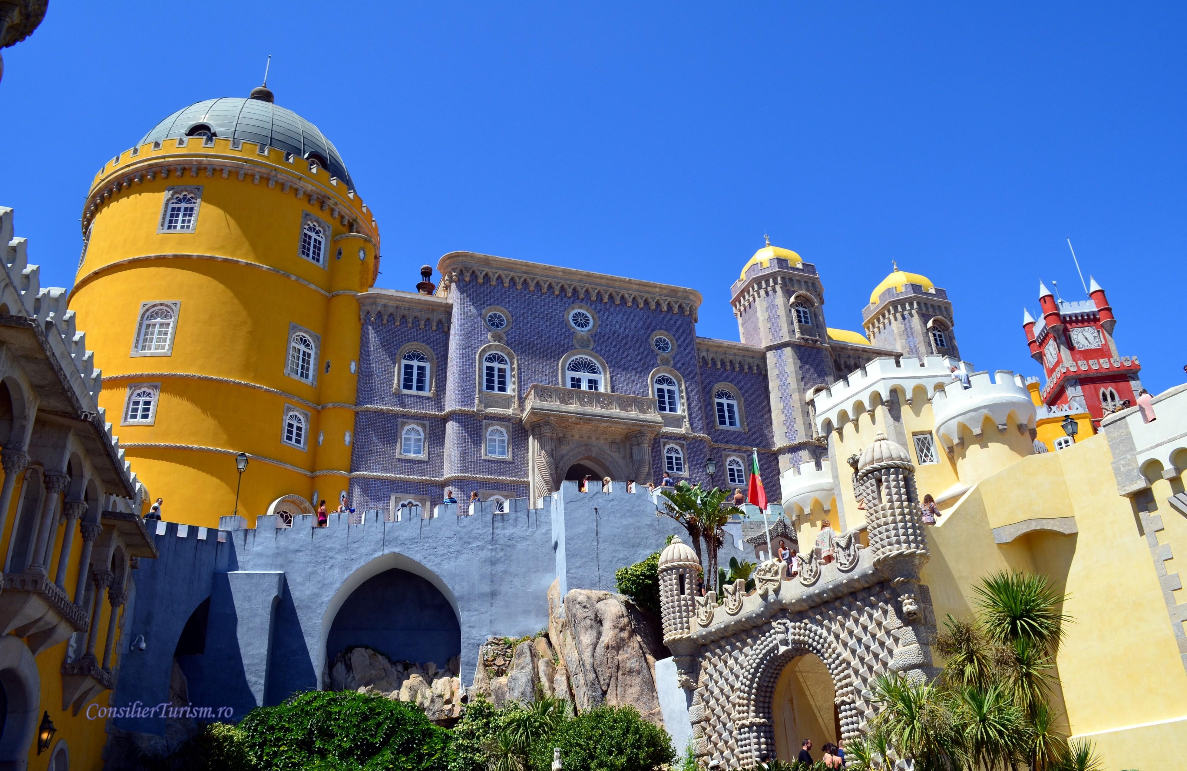 palatul national pena sintra portugalia