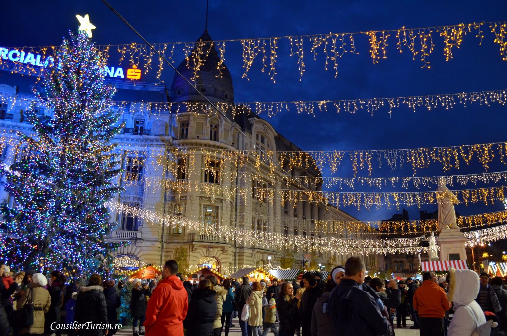 christmas market bucharest romania 2015