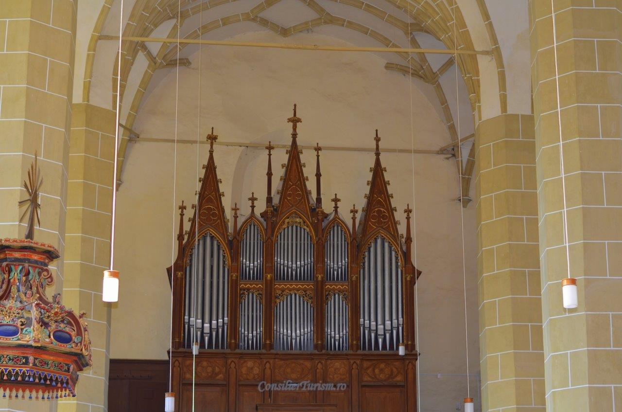 orga biserica Biertan UNESCO