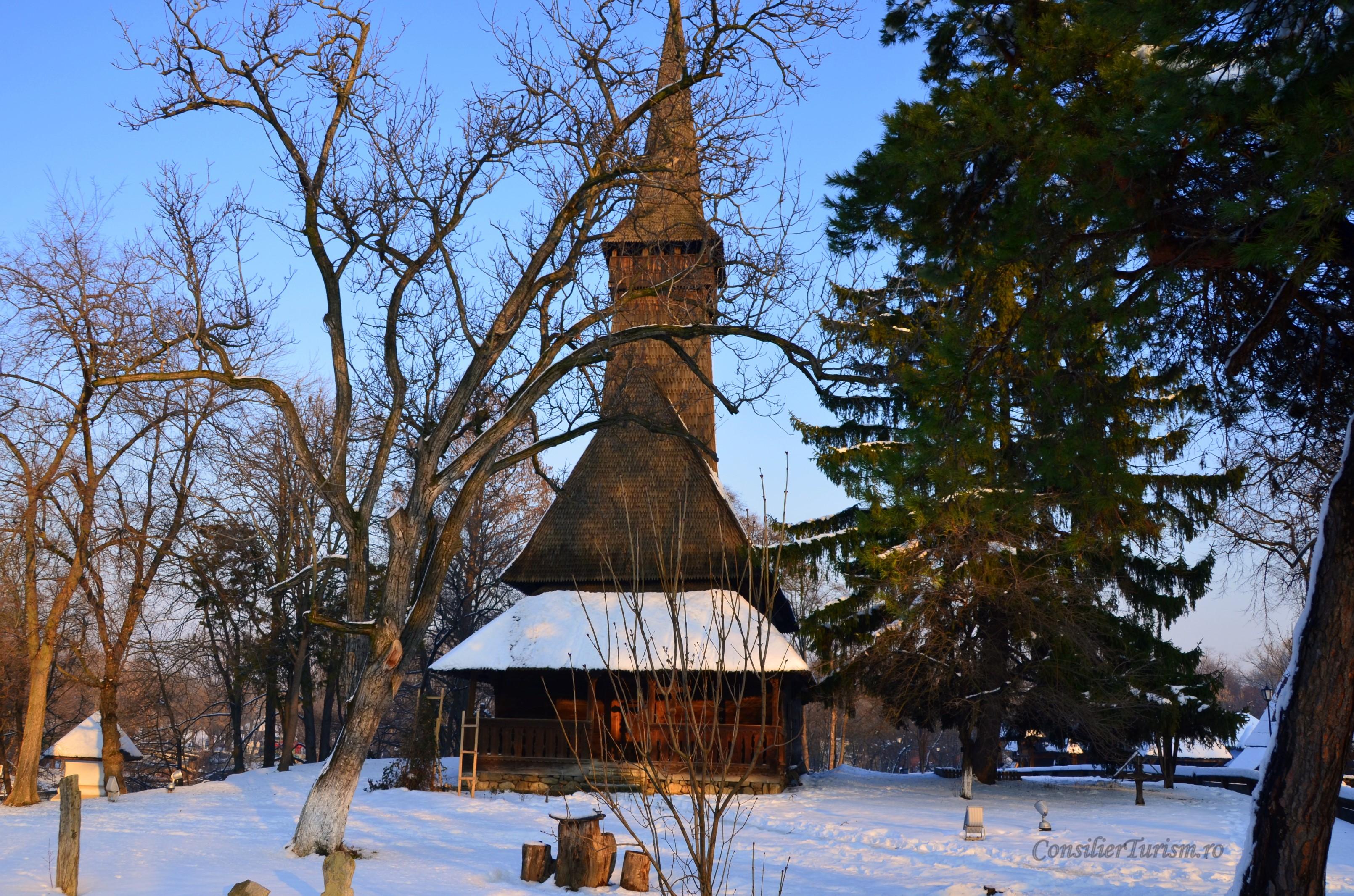 biserica dragomirna muzeul satului