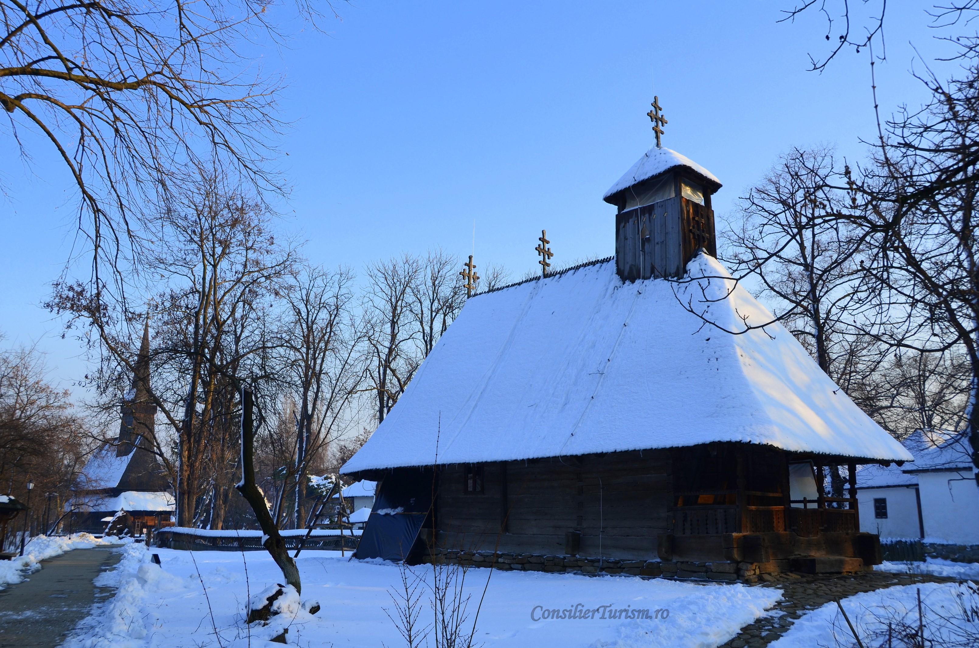 biserici Muzeul satului bucuresti