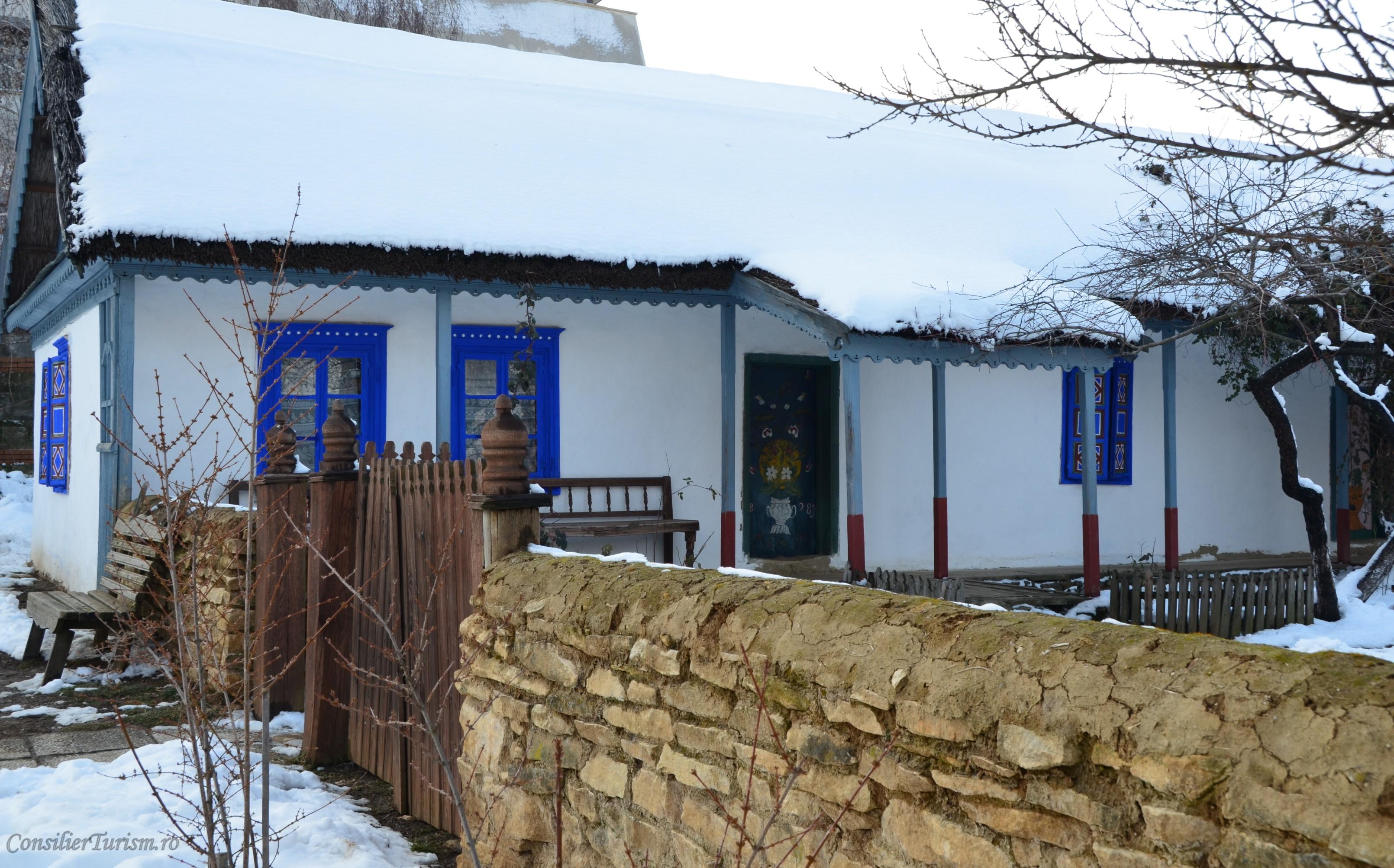 casa muzeul satului bucuresti