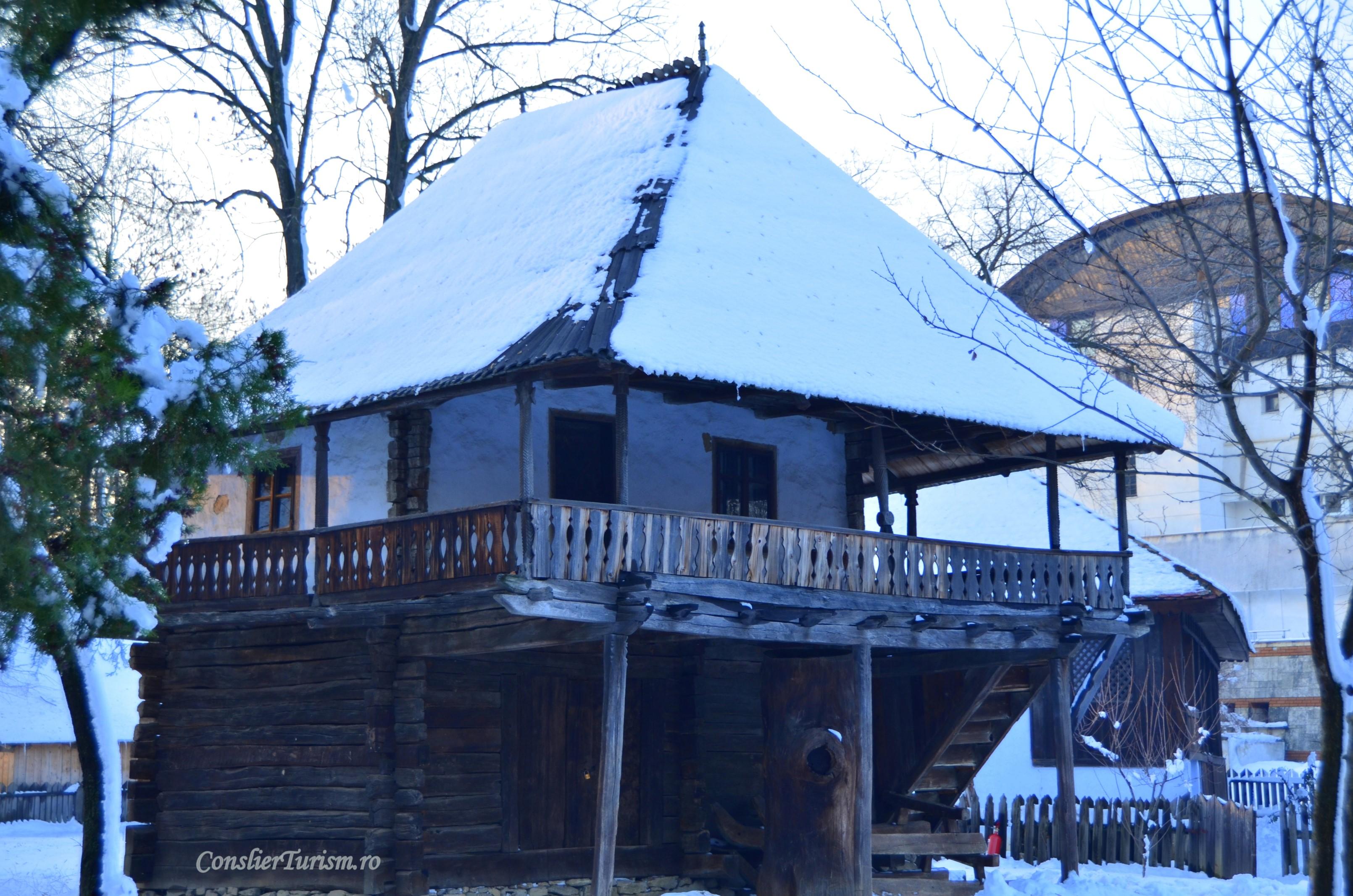 casuta muzeul satului bucuresti