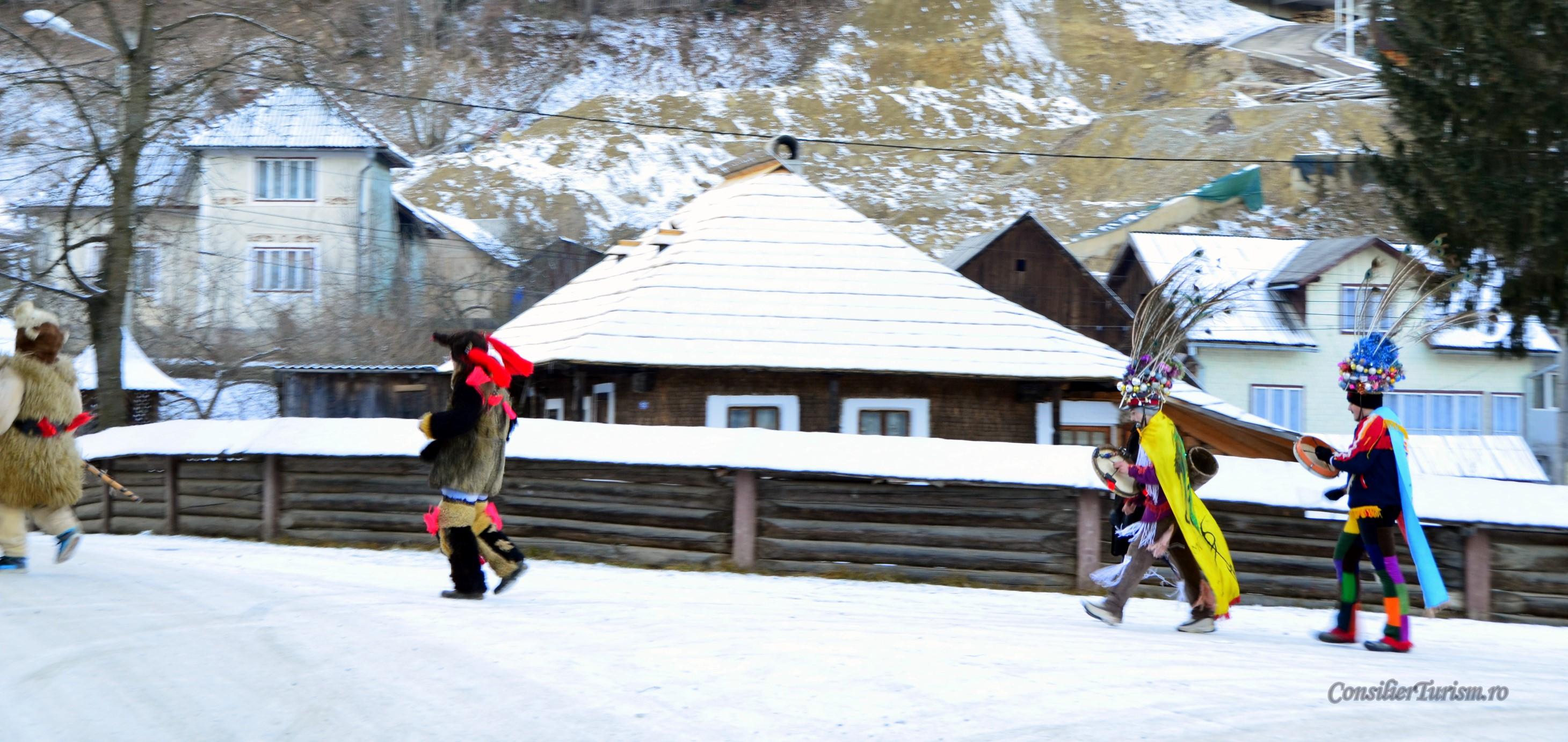 dansul ursului traditie vornet bucovina