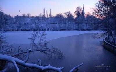Iarna prin Bucureşti. Galerie foto