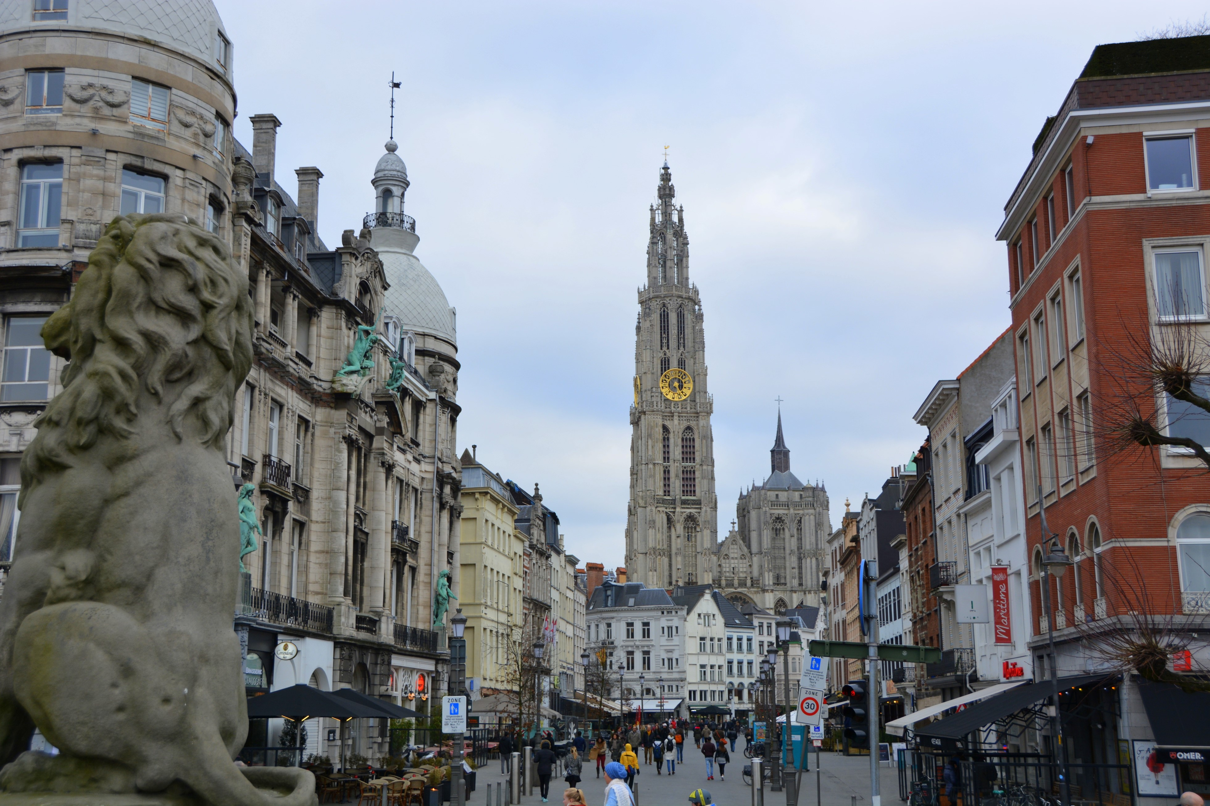 anvers catedral Notre Dame