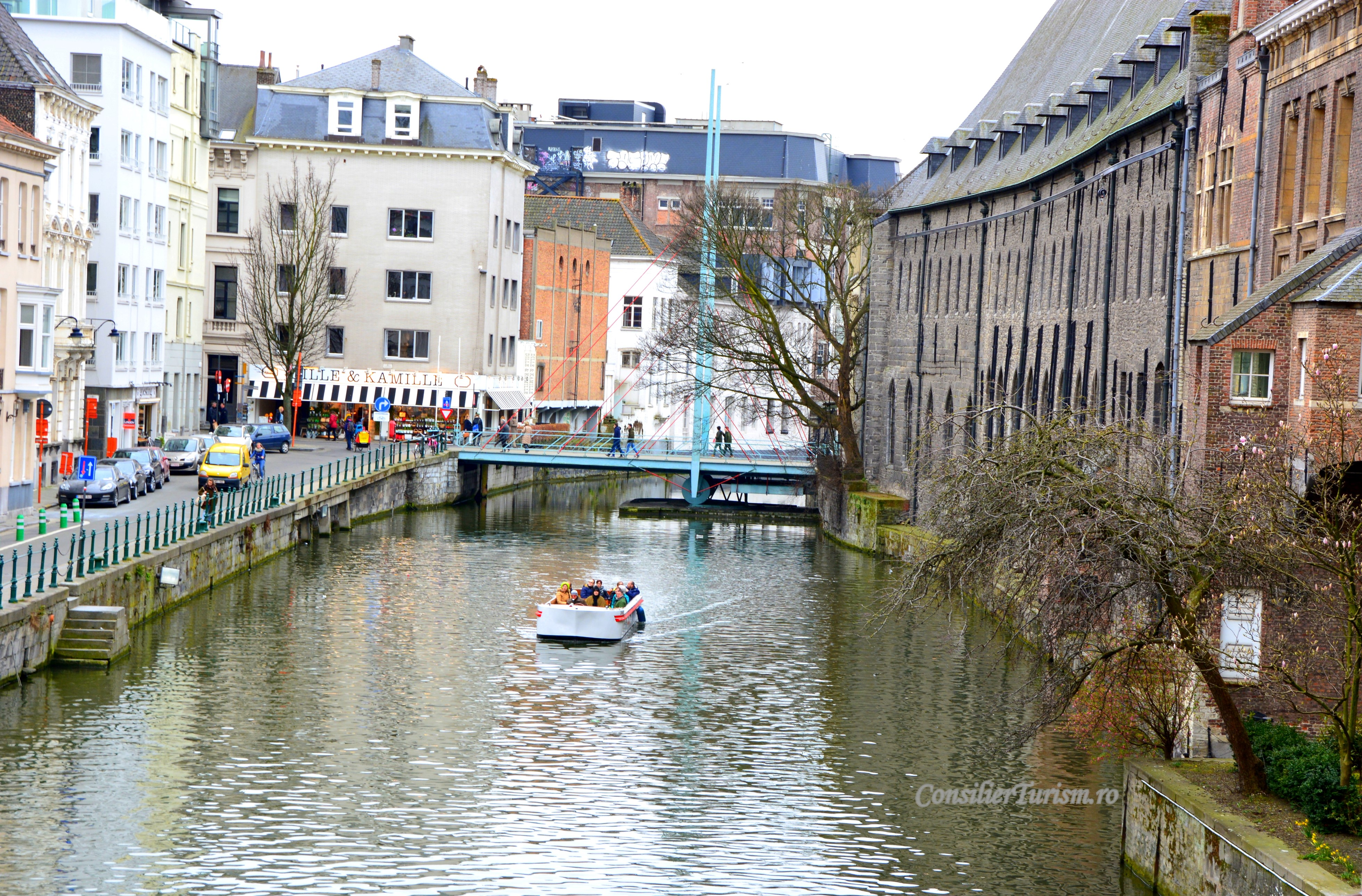 canal Gent Belgia