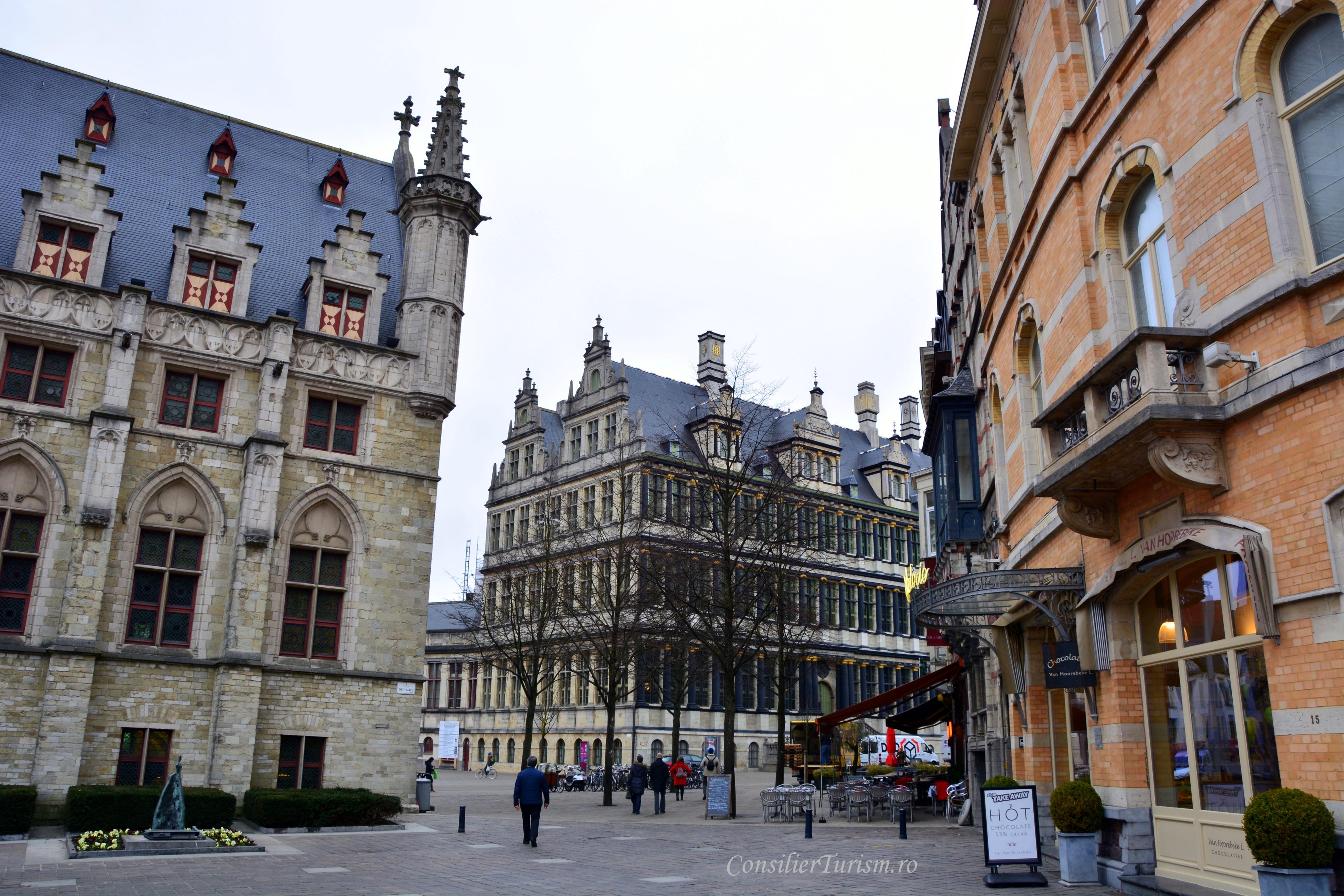 piata catedralei Gent
