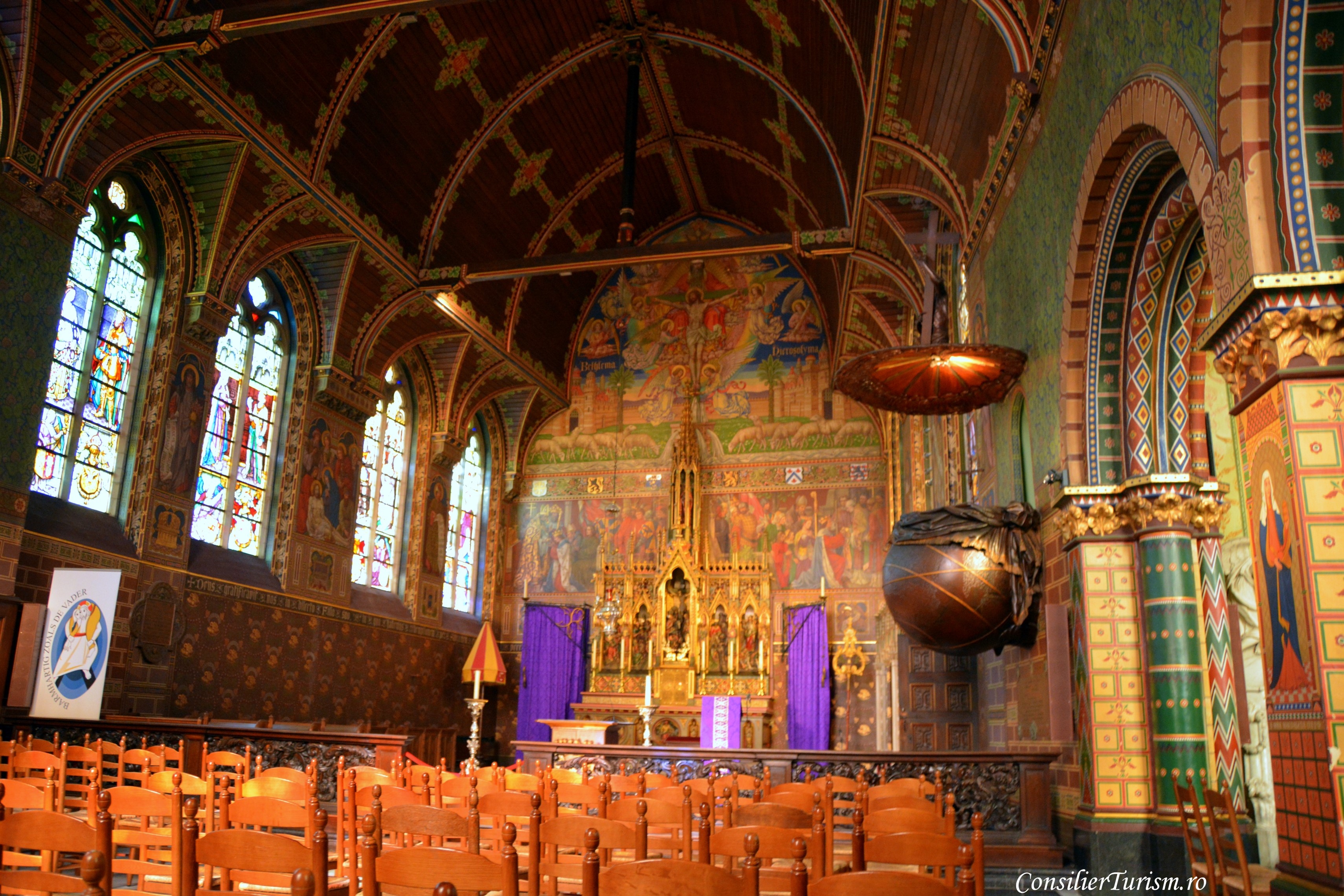 basilica Sf Sange bruges belgia