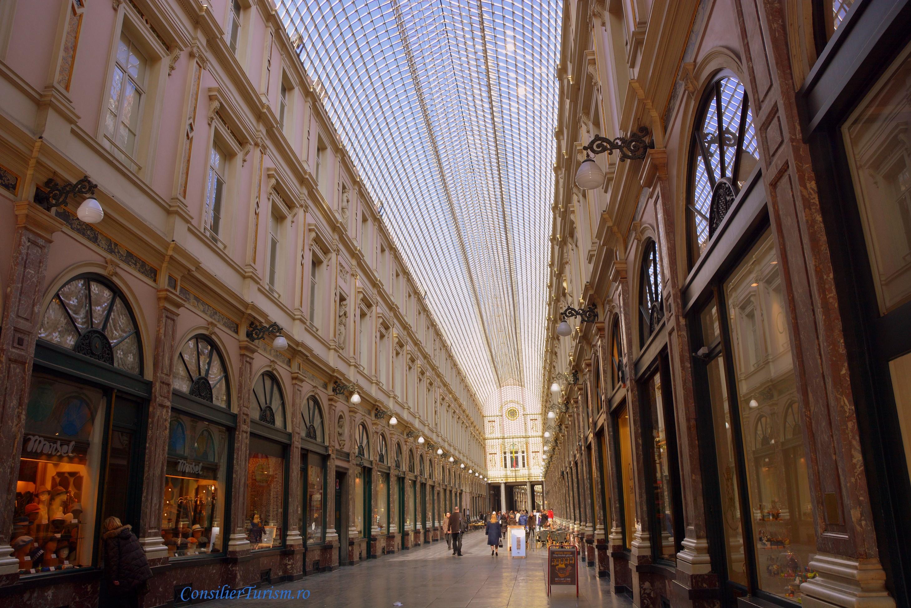 galerie royale St Hubert