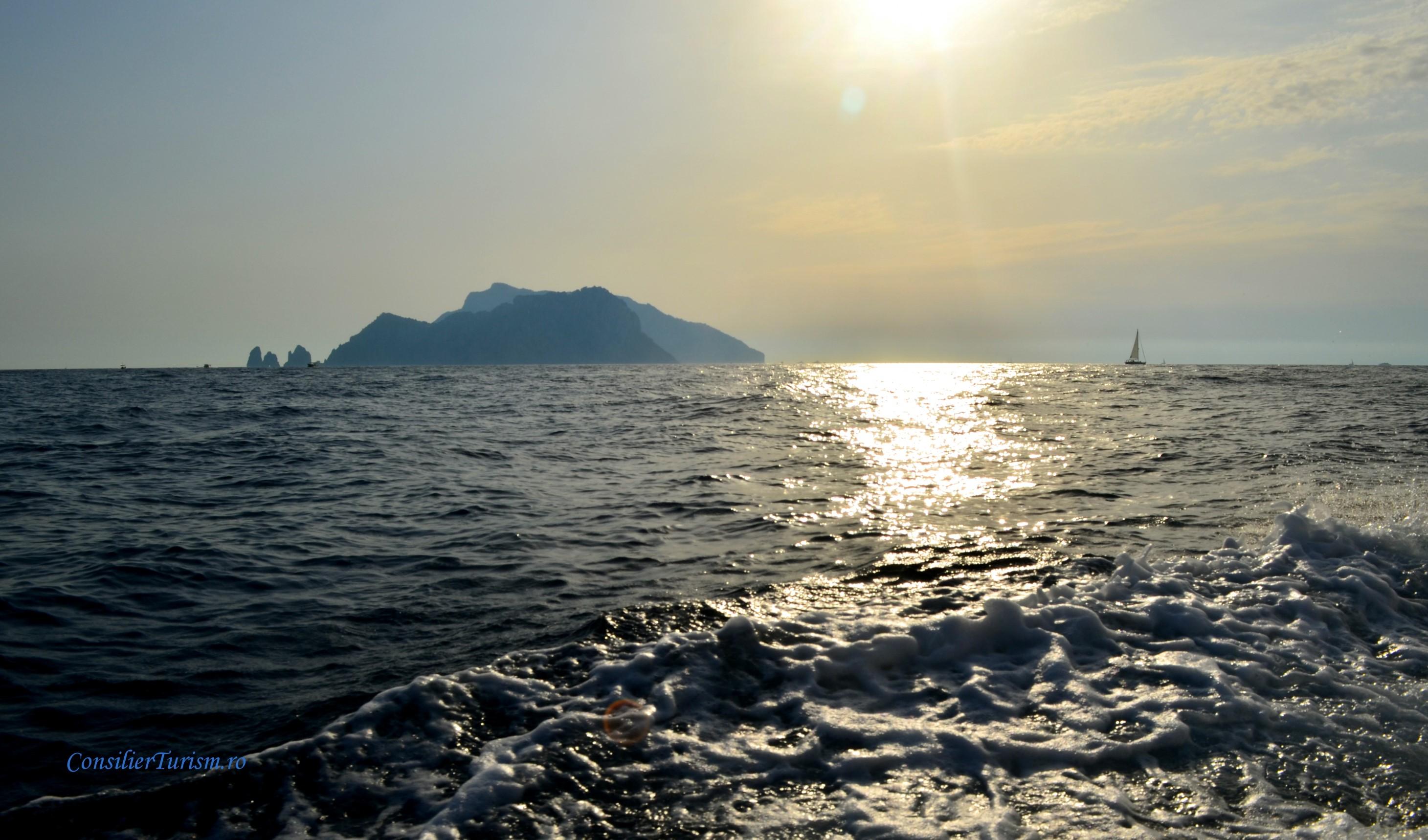 capri from amalfi