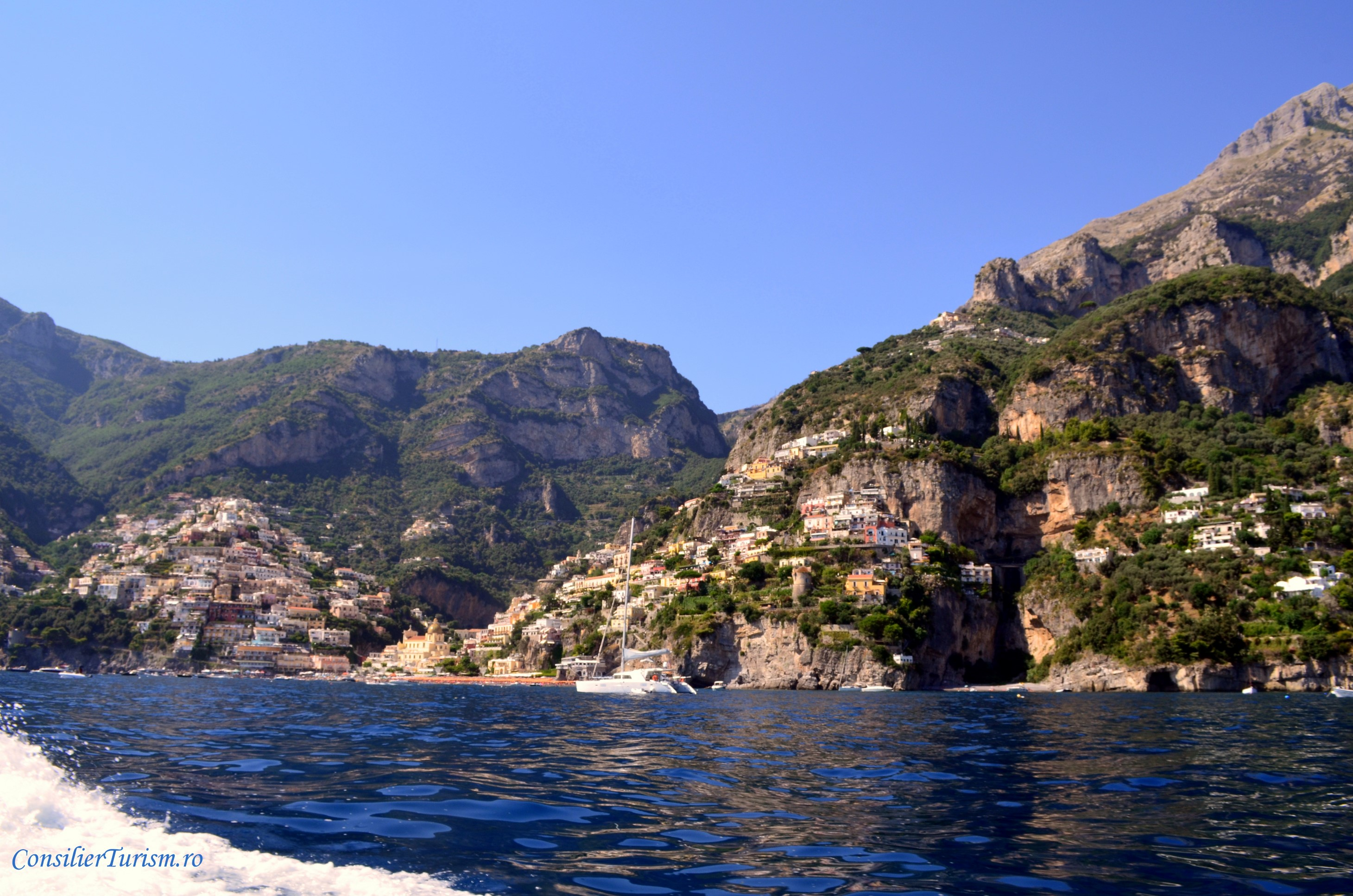 coasta amalfi croaziera