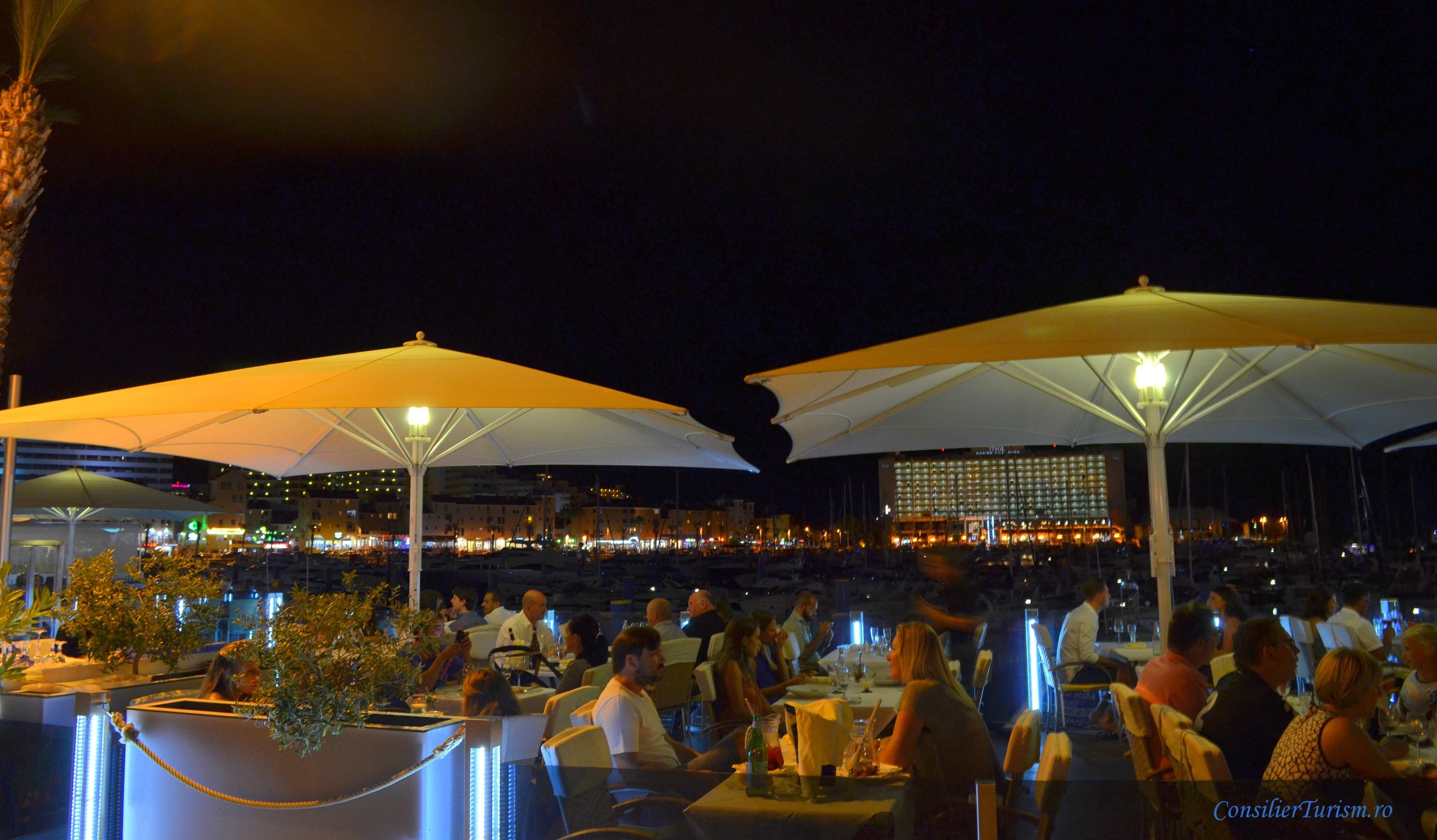 vilamoura by night