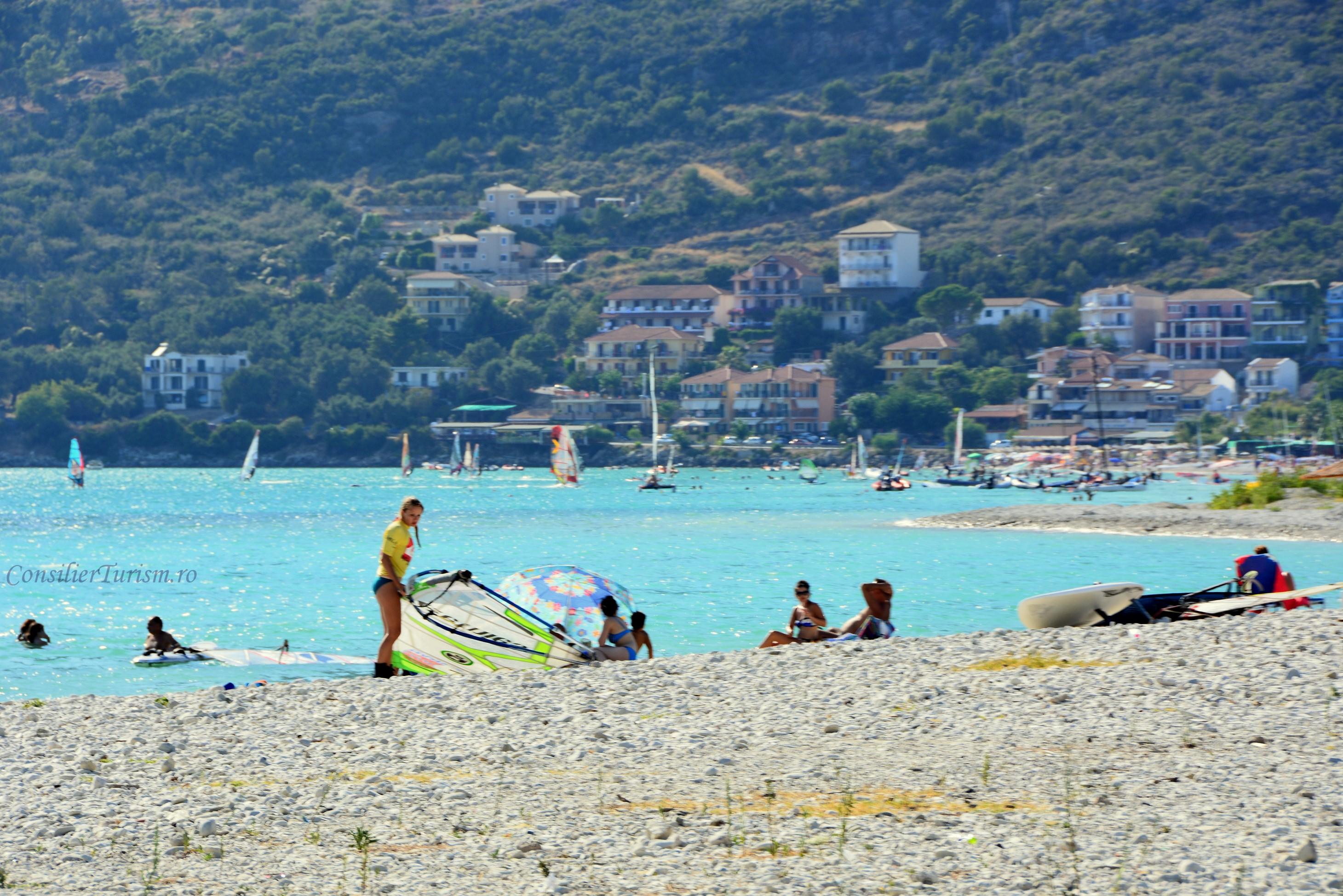 kitesurfing Vassiliki Lefkada