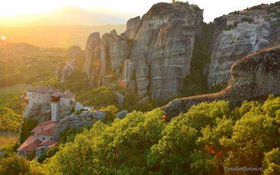 În vizită la Meteora, mănăstirile dintre nori (I)