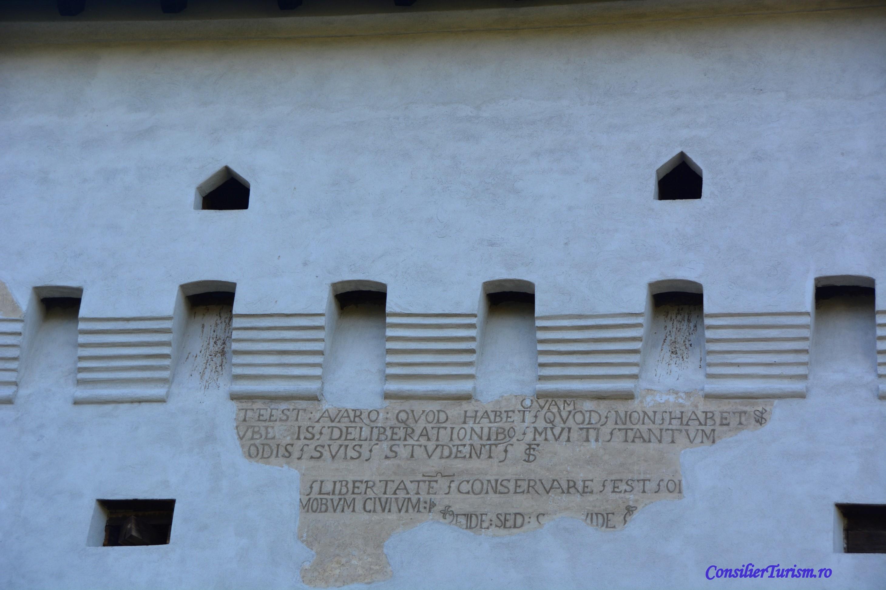 cetate Tg Mures inscriptii