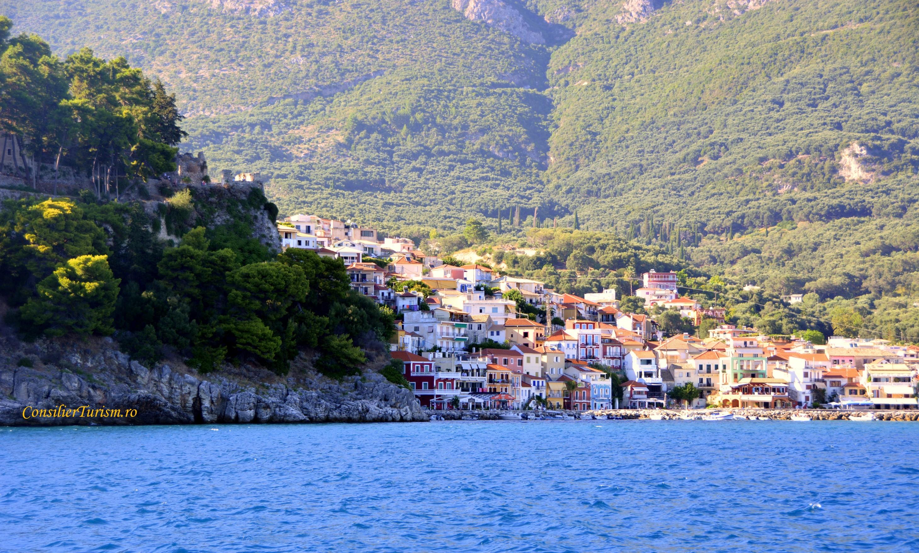 parga greece sea view