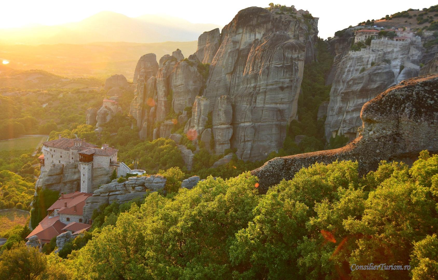 Sfaturi Pentru Vizita La Meteora Mănăstirile Dintre Nori Ii
