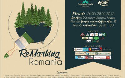 """""""ReMarking Romania"""", cel mai mare proiect de remarcare a traseelor montane, se desfășoară în weekend"""