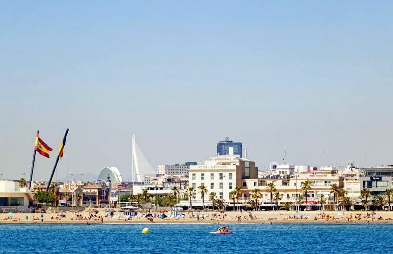 Unde putem merge la plajă în Valencia și împrejurimi