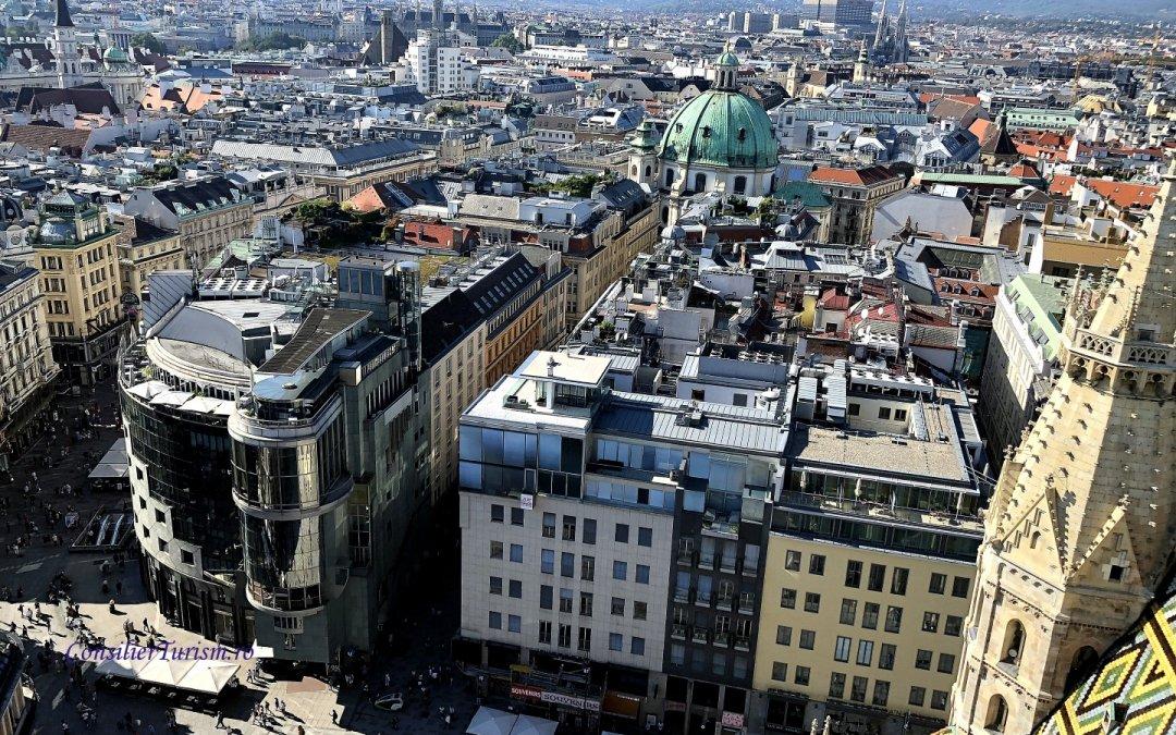 Viena la înălțime. Obiective turistice cu cele mai frumoase panorame