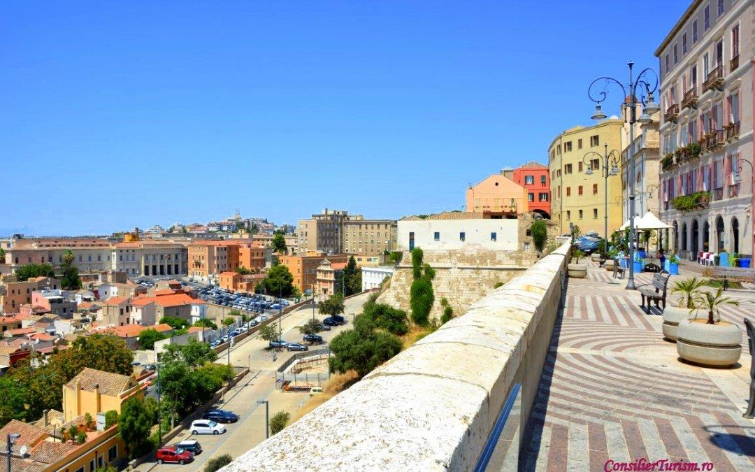 În vizită la Cagliari, capitala Sardiniei