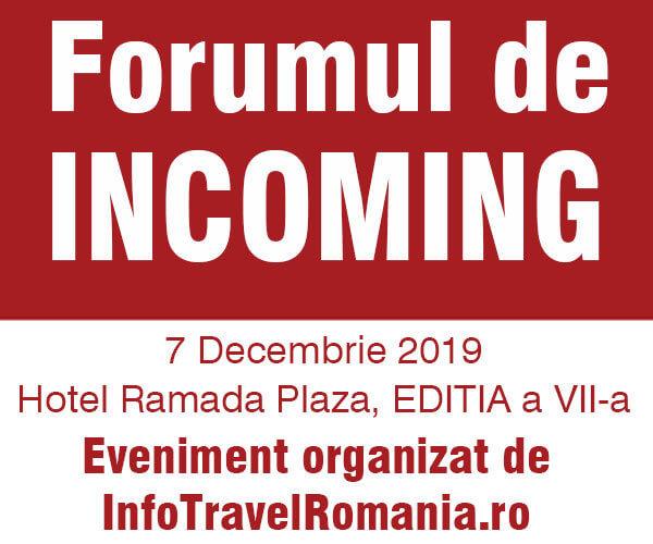 Ediția a VII–a a Forumului de Incoming are loc pe 7 decembrie