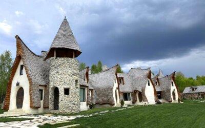 Despre Castelul de Lut Valea Zânelor și povestea sa adevărată
