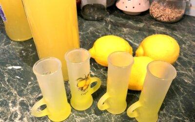Rețetă de limoncello produs pe Coasta Amalfitană