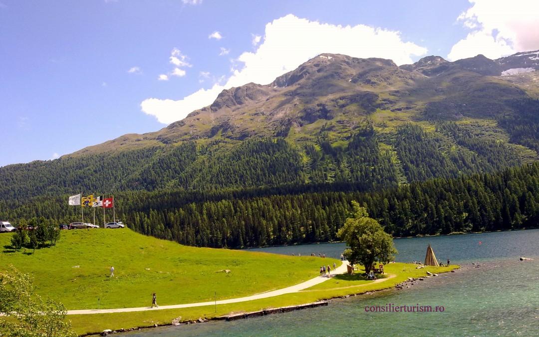 """Ce poti vizita intr-o zi in """"Top of The World"""", statiunea elvetiana St Moritz"""