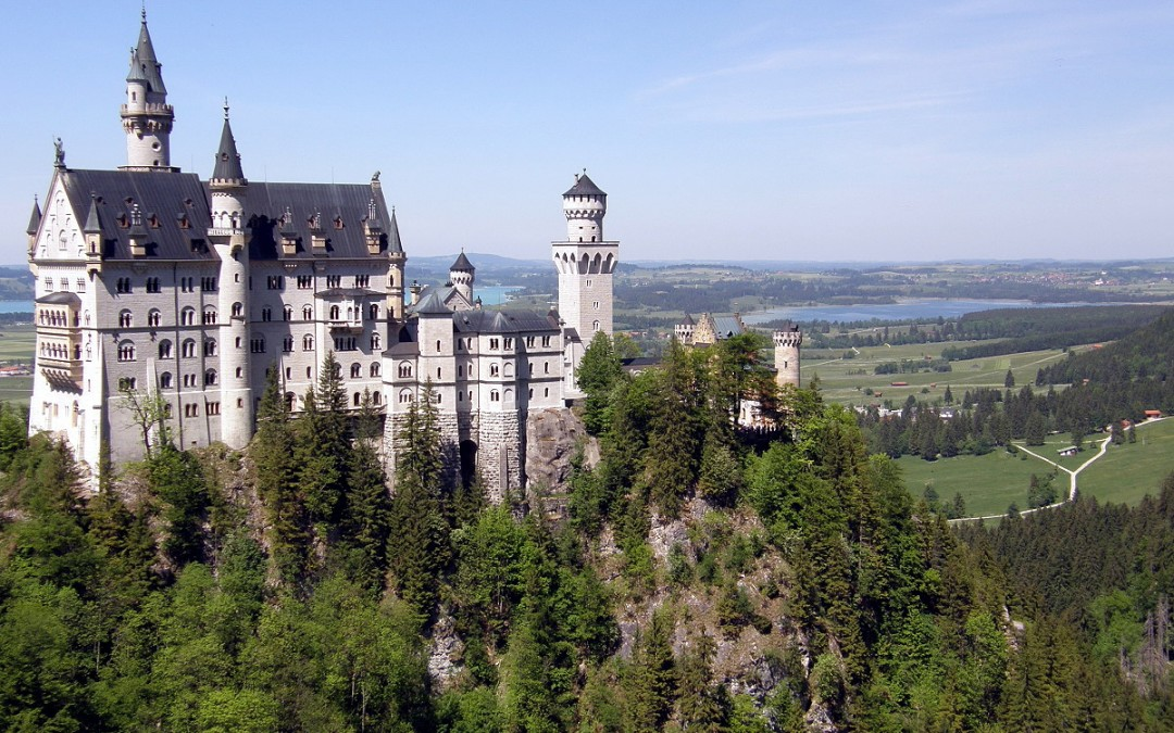 Topul celor mai frumoase castele ale Germaniei