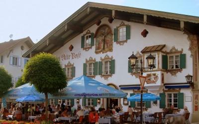 Desprins dintr-o filă de poveste: Obermammergau, Bavaria