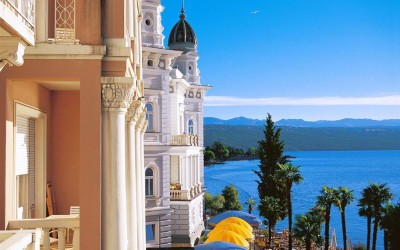 """Opatija, perla Adriaticii, """"agatata"""" pe harta turismului din Croatia de imparatii austrieci"""