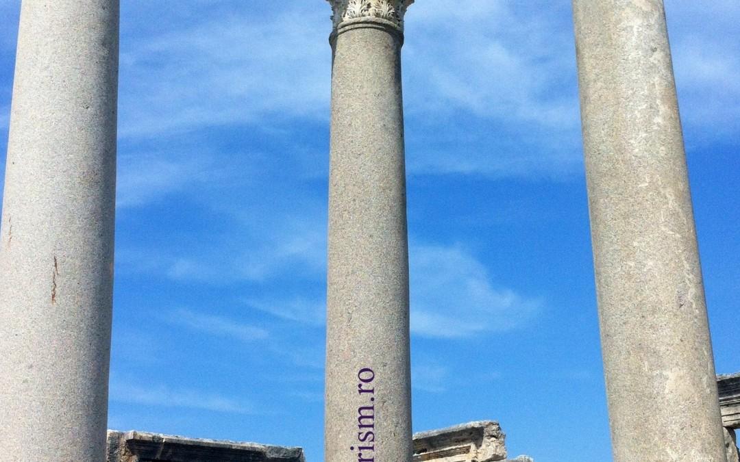 Perge, Aspendos și Side, tentații mai tari decât regimul all inclusive din Antalya