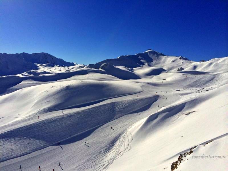 Cele mai apreciate staţiuni de schi din Europa, după gradul de dificultate