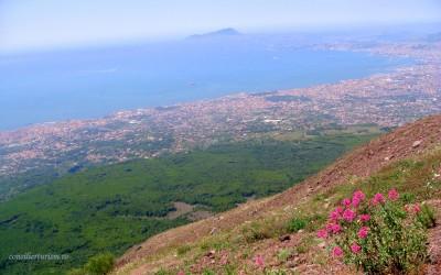 În vizită la Vezuviu, cel mai periculos vulcan din lume